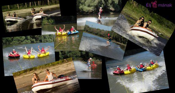 4 fős Vízi kaland