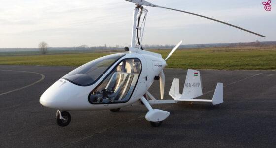 Gyrocopter vezetés