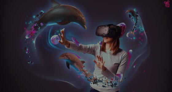 VR élmény VR szemüveg